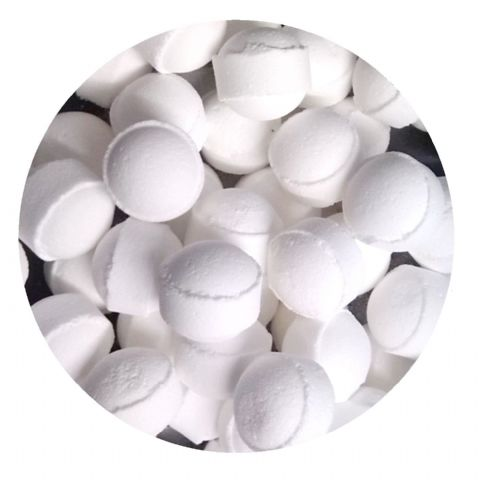 30 x Coconut Mini Bath Marbles Fizzers Bath Bubble & Beyond 10g Each